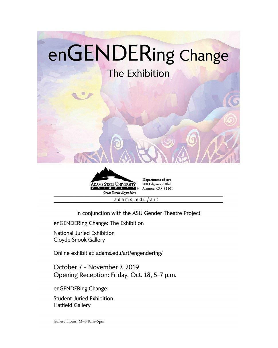 enGENDERing Change Event Poster